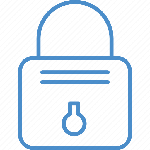 Lock, locked, metal, password, security icon - Download on Iconfinder