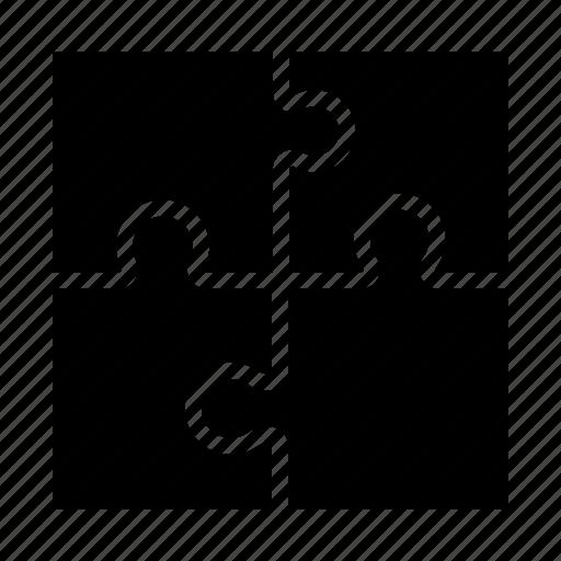 puzzle, puzzle piece, puzzle set, strategy icon