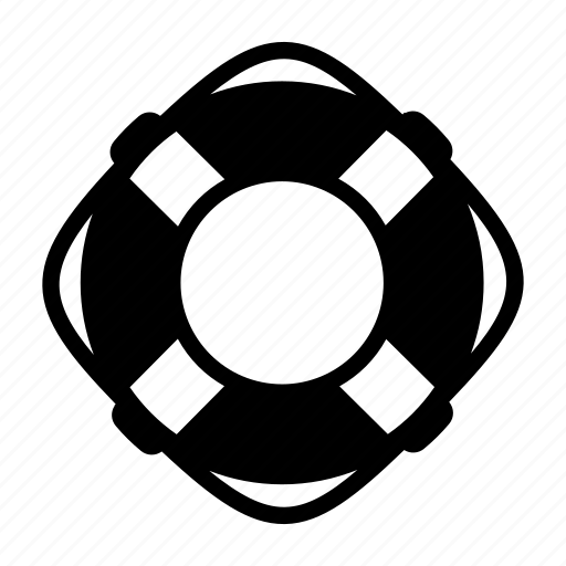flotation device, help, lifebuoy, lifeguard icon