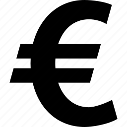 bank, euro, money icon