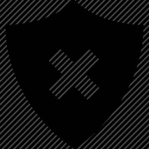 app, interface, shield, site, web icon