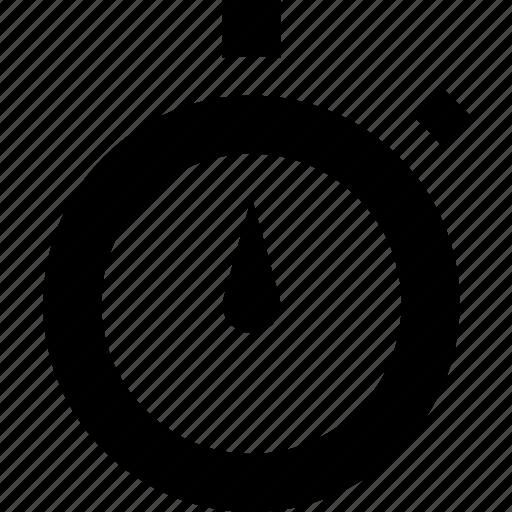 app, interface, site, stopwatch, web icon