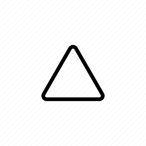 abstract, design, shape, triangle icon