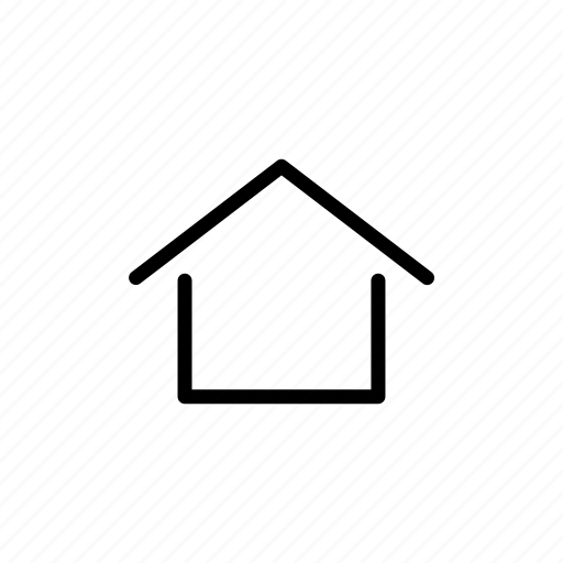 home, house, menu, navigation icon