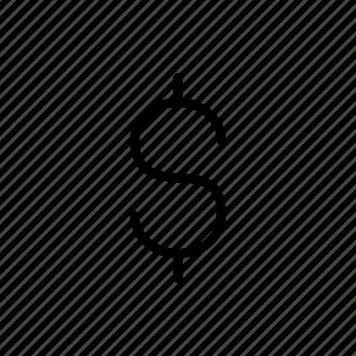 cash, dollar, money, payment icon