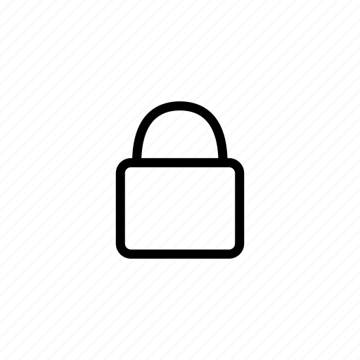 locked, password, secure, security icon