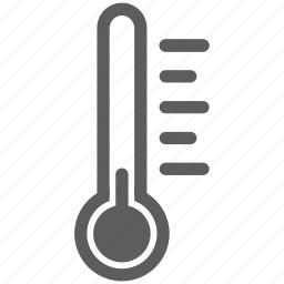 cold, heat, temperature, thermometer, weather icon