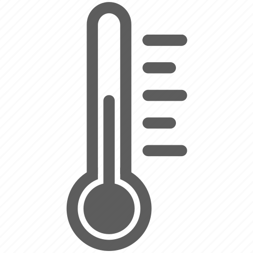 heat, temperature, thermometer, warm, weather icon