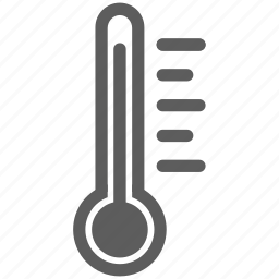 heat, hot, temperature, thermometer, warm, weather icon