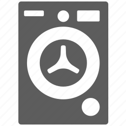 automatic, cleaning, laundry, washer, washing machine icon