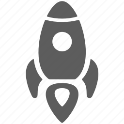 energy, fast, launch, project, rocket, start icon