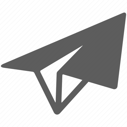 email, letter, paper, paper plane, paperplane, plane icon