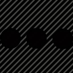 dashboard, dots, interface icon