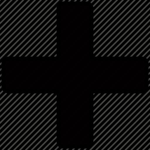 add, cross, plus icon