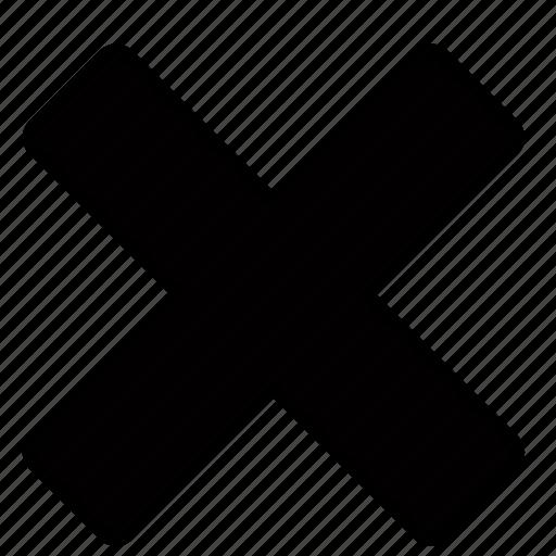 cross, delete icon