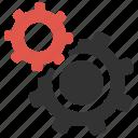 cog, configure, gear, optimize, options, productivity, settings icon