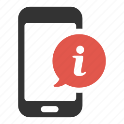 about, device, help, information, phone, smartphone, support icon