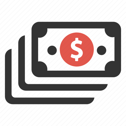 bill, cash, earnings, finance, income, money, pay icon