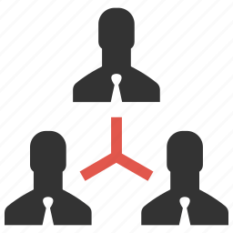 businessmen, community, connection, hierarchy, men, people, teamwork icon