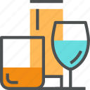 beverage, cup, drink, equipment, glass ware, household icon