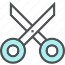 cut, cutting, cutting tool, equipment, scissor, tool icon