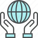 growth, planet, planet care, save, save planet icon
