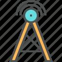 broadcast, communication, connection, radio, signal, talk icon