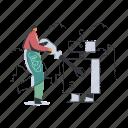maintenance, robotic, artificial, intelligence, man, repair