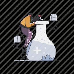 science, marketing, chemistry, lab, laboratory, experiment, woman