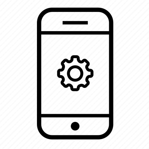 cellphone, configurations, mobile, mobile setting, mobile settings, settings icon