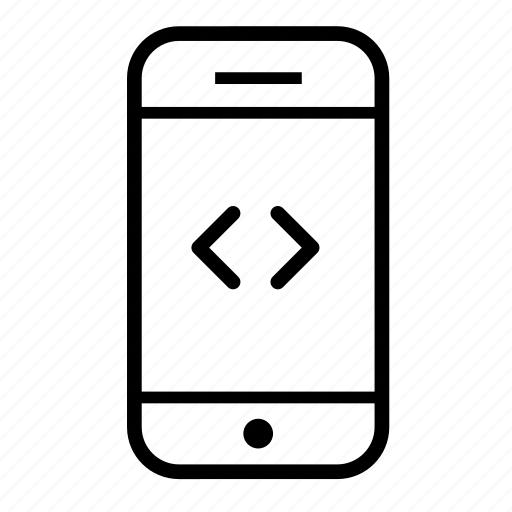 coding, mobile, mobile code, mobile coding, mobile phone, phone framework icon