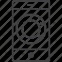 smartphone, diagram, data, mobile, phone, storage