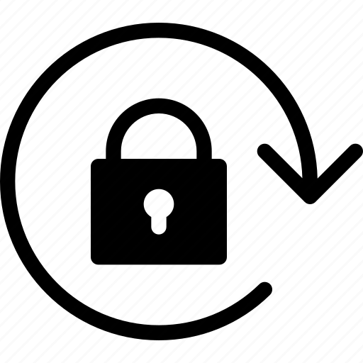 lock, rotation, safe, screen, secure icon