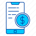 money, dollar, finance, currency, coin, mobile, smartphone