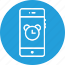 alarm, clock, mobile, notification, reminder, time, ui icon