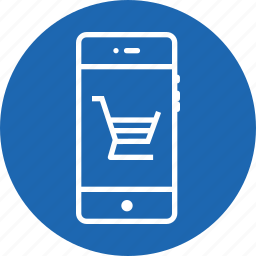 cart, e-commerce, interface, mobile, shop, shopping, trolly icon