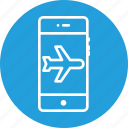 aeroplane, air, flight, interface, mode, plane, signal icon