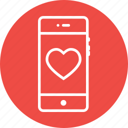 favorite, favourite, heart, like, love, mobile icon