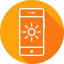 bright, brightness, contrast, flash, interface, mobile, ui icon