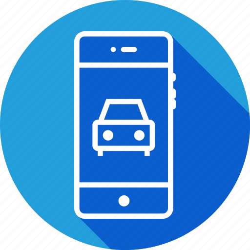 cab, car, drive, interface, mobile, texi, vehicle icon