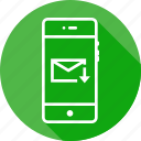 downlaod, email, mail, message, mobile, pencil, ui icon