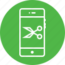 anchor, interface, mobile, ponits, scissors, tool, ui icon