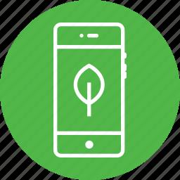environment, mobile, stroke, tree, ui icon