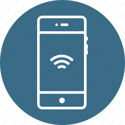 app, application, available, mobile, signal, ui, wifi icon