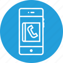 call, contact, diary, list, mobile, phone, phonebook icon
