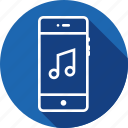 audio, melody, mobile, music, ringtone, song, tune icon