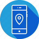find, locate, location, mobile, navigate, navigation, place icon