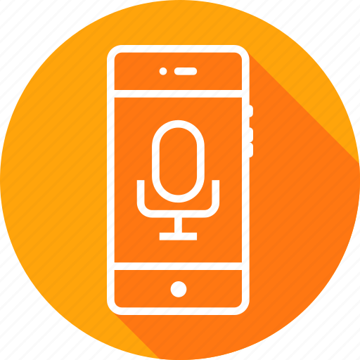 audio, mobile, recognization, record, recording, speech, voice icon
