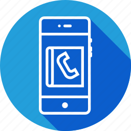 call, contact, diary, list, phone, phonebook, ui icon