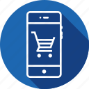 bucket, interface, mobile, shopcart, shopping, tray, wheel icon